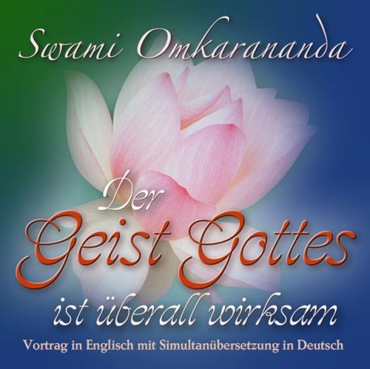 Der Geist Gottes ist überall wirksam – 1 CD, Simultan-Übersetzung