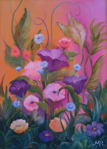 Blumen in rosa