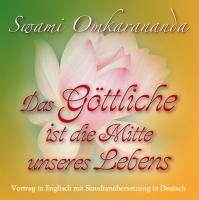 Das Göttliche ist die Mitte unseres Lebens – 1 CD  Simultan-Übersetzung