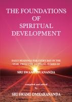 The Foundations of Spiritual Development